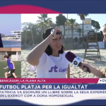 «Un mar de igualdad» en Benicàssim aparece en À Punt
